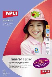 Apli agipa 10955 papier transfert pour tout type de - Papier transfert pour textile ...
